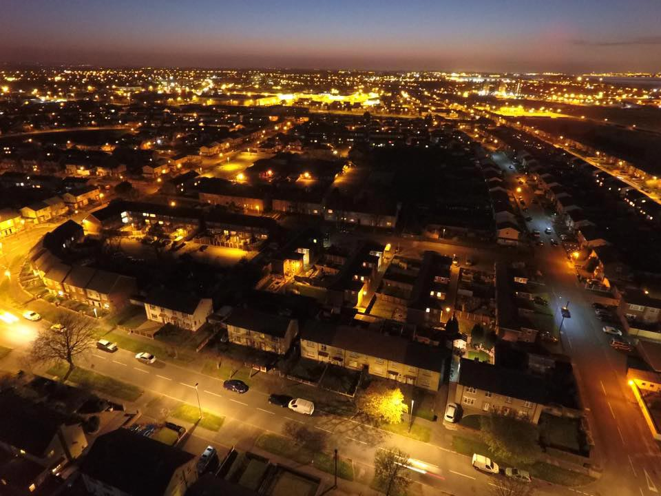 Ellesmere Port actually looks half decent by night, when it's dark