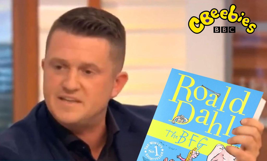 Tommy Robinson To Read The Bfg On Cbeebies Bedtime Stories The