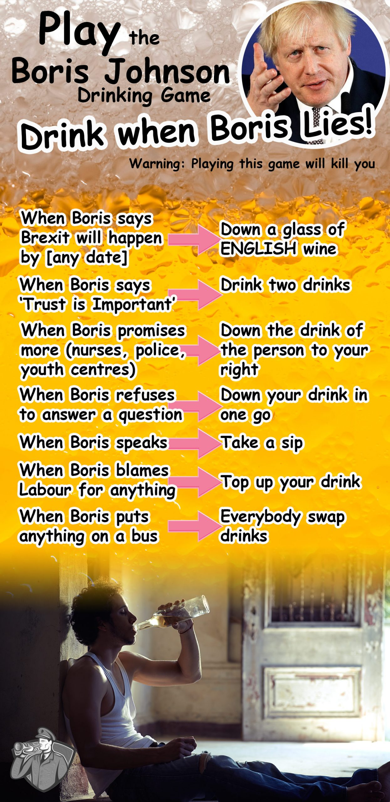 Play the Boris Drinking Game